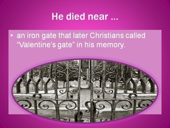 The Legend of Saint Valentine
