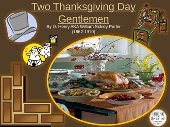Two Thanksgiving Day Gentlemen by O.Henry