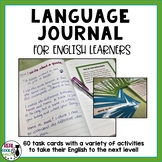 ESL Language Journal | Task Cards for Vocabulary and Grammar