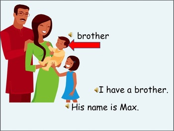 ESL Language Lab PowerPoint - have, like family and colors