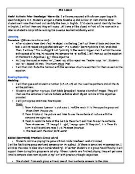 ESL Lesson Plan