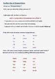 ESL Lesson Plans 4 - Basic Grammar (Part C - Prepositions