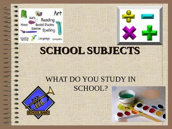 School Subjects for ELLS