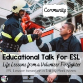 ESL Lesson for TED Talk: A Life Lesson from a Volunteer Fi