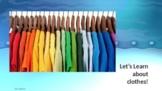 ESL Lesson on Clothing