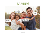 ESL Lesson on Family Members with Simplified Chinese