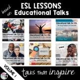 ESL Lessons for Educational Talks Bundle Volume 1
