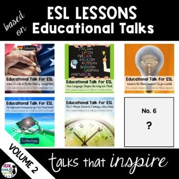 ESL Lessons for TED Talks Bundle - Volume 2