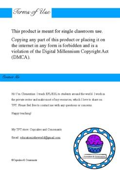 ESL Let's Talk about ART lesson plan