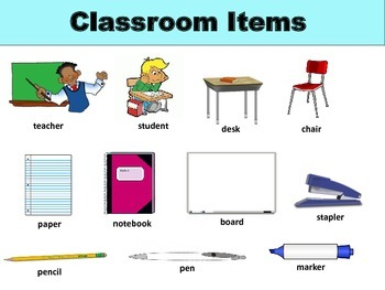 Beginner ESL: Level 1 Lesson 3 - Classroom Material