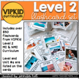 UPDATED: ESL (VIPKID) Level 2 Flashcard Mega Pack!