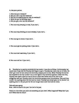 ESL Level 2 Lesson 31 Advanced Beginner  Adult Classroom C