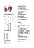 ESL Level 2 Time Directions  Adult Classroom Ordinal Numbers