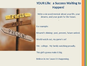 Learn English Lesson 4 ELA Traits of Success:  YOUR Search for College BEGINS