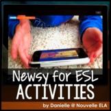 ESL Listening Comprehension - Newsy Video Bundle #1