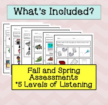 ESL Listening Progress Monitoring, Second Grade