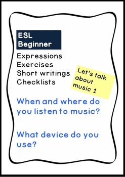 ESL Listening to music (When? Where? What device?)