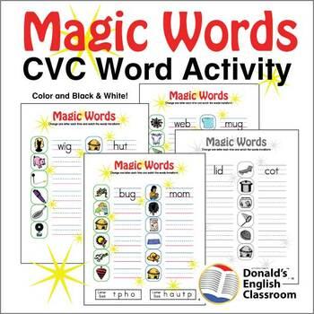 CVC Word Magic