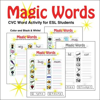 CVC Word Magic