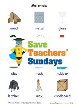 ESL Materials Worksheets, Games, Activities and Flash Cards (with audio)