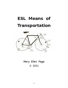 ESL Means of Transportation
