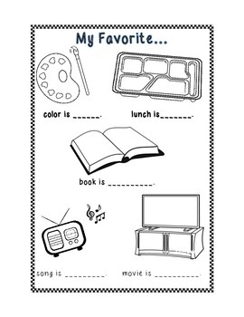 ESL Memory Book