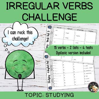 Irregular Verbs - In the classroom (set #3)