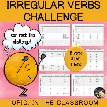 Irregular Verbs Challenge #3