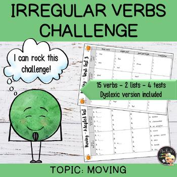 Irregular Verbs Challenge #4