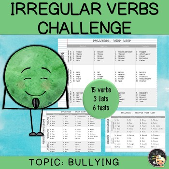 Irregular Verbs - Bullying (set #5)