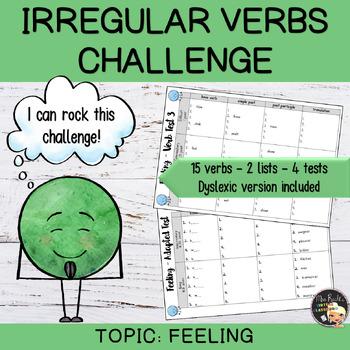 Irregular Verbs Challenge #6