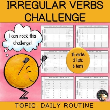 Irregular Verbs Challenge #7