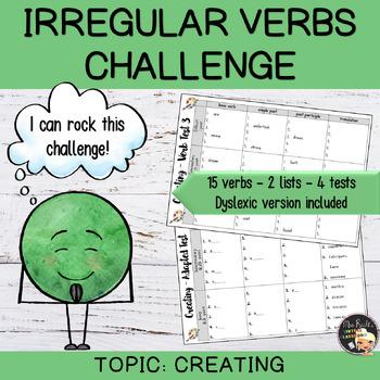 Irregular Verbs Challenge #9