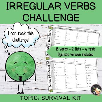 Irregular Verbs Challenge #1