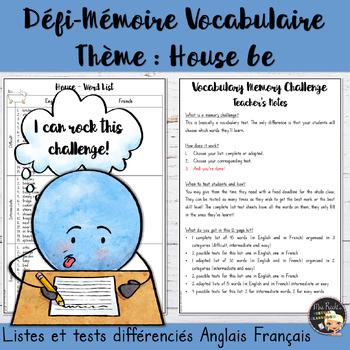 ESL Memory-Challenge - House