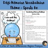EFL Memory-Challenge - Sports