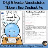 EFL Memory-Challenge - Tourism