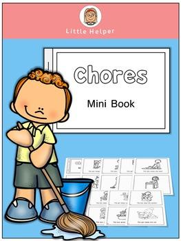 ESL  Mini Book  Chores