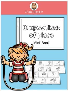 ESL  Mini Book - Prepositions