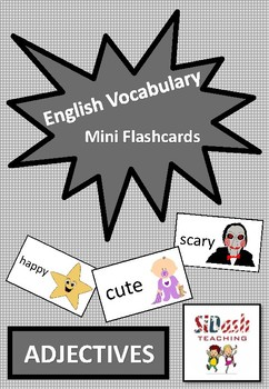 ESL Mini Flashcard Set (Adjectives)