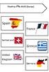 ESL Mini Flashcard Set (Countries of the World)