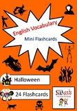 ESL Mini Flashcard Set (Halloween)