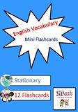 ESL Mini Flashcard Set (Stationary)