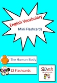 ESL Mini Flashcard Set (The Human Body)