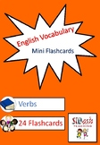 ESL Mini Flashcard Set (Verbs)
