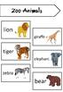 ESL Mini Flashcard Set (Zoo Animals)