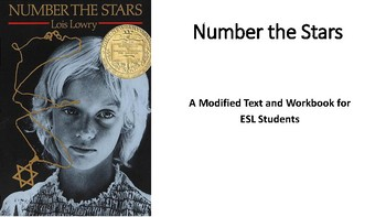 ESL Modified Number the Stars - Text and Workbook