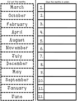 ESL Months Of The Year Vocabulary Cards And Worksheet Activities 1134388 on Kindergarten Homework Calendar
