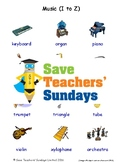ESL Musical Instruments Worksheets, Games, Flash Cards and More (with audio) 2