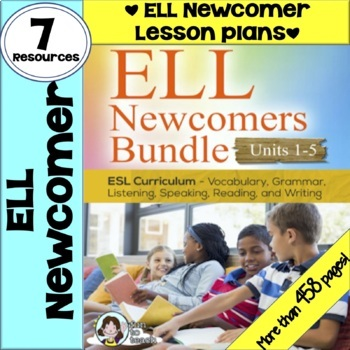 ENGLISH NEWCOMERS BUNDLE {ESL Newcomers Activities | ESL resources}